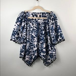 Andrew Charles pompon top